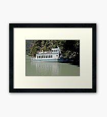A Boat Not Taken Framed Print