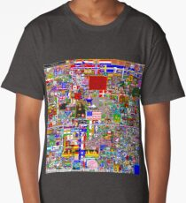 /r/Place 8K resolution Original Print - Final Version Long T-Shirt