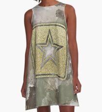 Army MultiCam Inspired Splatter A-Line Dress