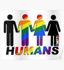 LGBQT HUMANS Poster