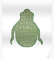Ghostbusters Shirt - Slimer Tee Shirt, Phone/tablet case and more - Cool Ghostbusters art  Poster