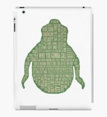 Ghostbusters Shirt - Slimer Tee Shirt, Phone/tablet case and more - Cool Ghostbusters art  iPad Case/Skin