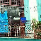 Balcony Laundry by phil decocco