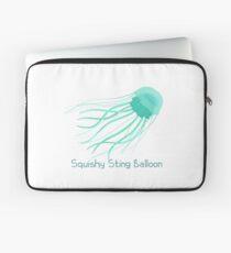Squishy Sting Balloon (Jellyfish) Laptop Sleeve
