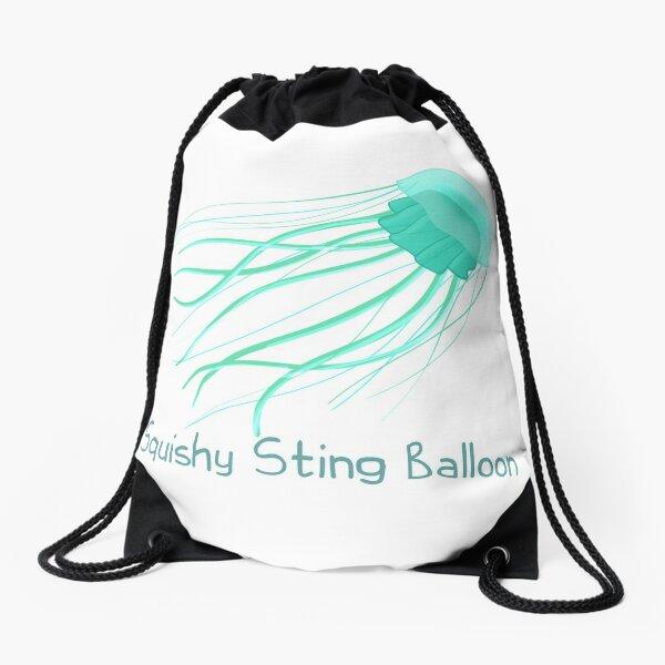 Squishy Sting Balloon (Jellyfish) Drawstring Bag