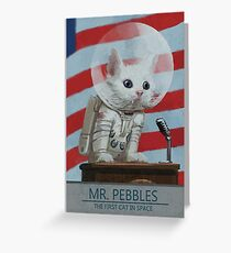 Mr. Pebbles Greeting Card