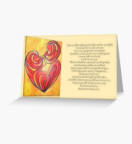 "Signposts Saying ""Happiness"" Greeting Card Greeting Card"