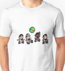 Cool 8bit Ghostbusters Design - for tees, tablet skins, wal art and more! T-Shirt