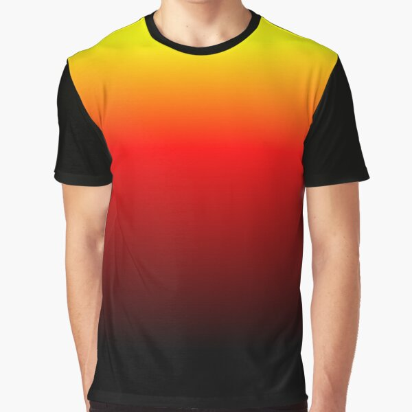 Ombre Sunset Graphic T-Shirt