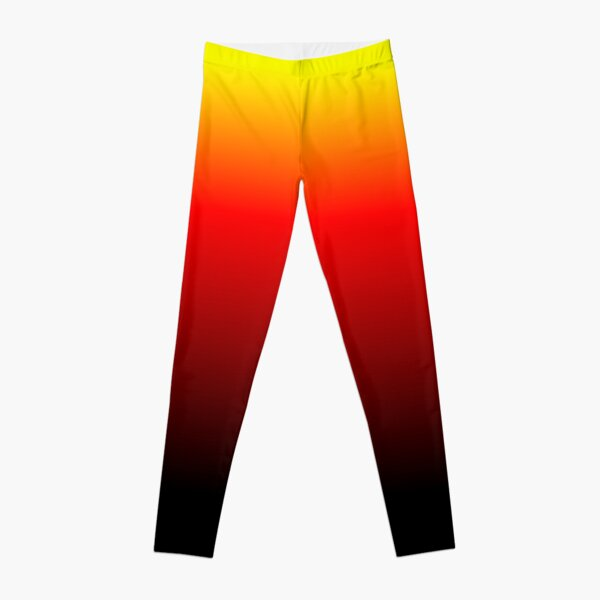 Ombre Sunset Leggings
