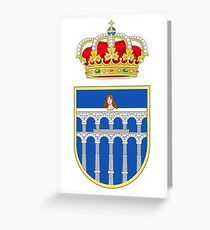 Segovia, Spain Greeting Card