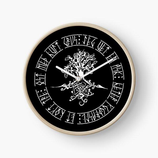 Yggdrasil- Norse tree of life  Clock