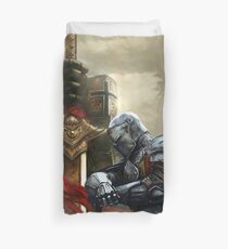KNIGHTS SERVE IN HONOUR Duvet Cover