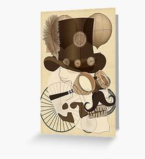 Steam Punked Greeting Card