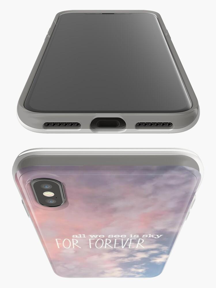 Alternative Ansicht von Alles, was wir sehen, ist Himmel für immer Design iPhone-Hülle & Cover