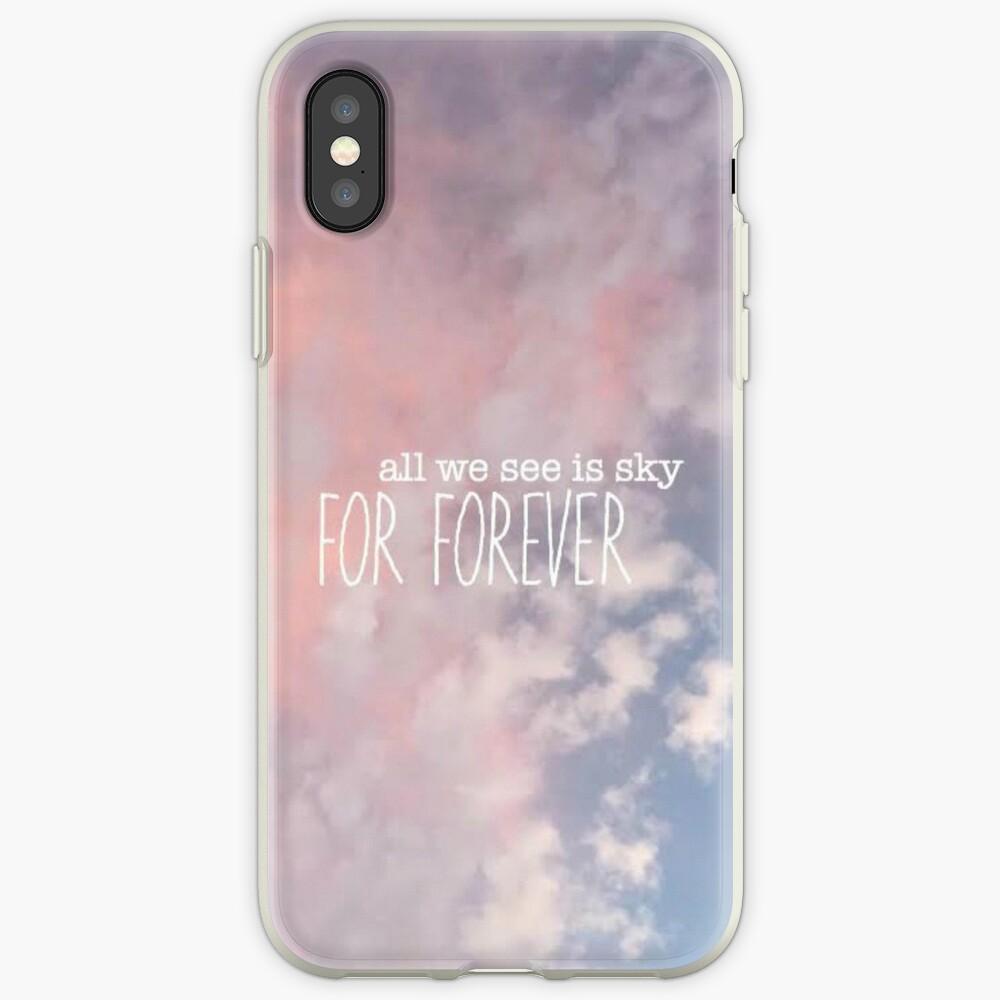 Alles, was wir sehen, ist Himmel für immer Design iPhone-Hülle & Cover