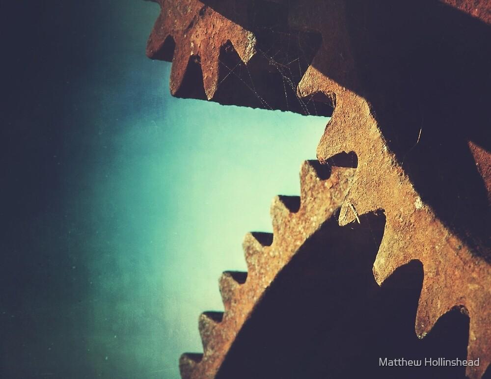 Rusty Gears by Matthew Hollinshead
