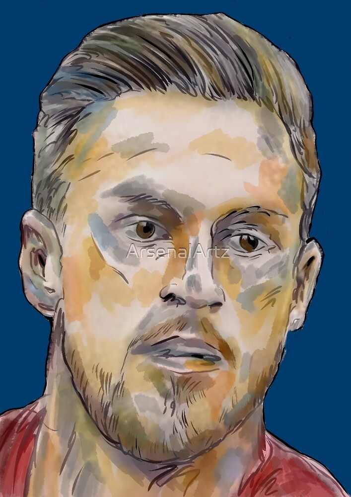 Aaron 'Rambo' Ramsey by ArsenalArtz