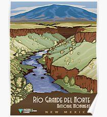 Vintage poster - Rio Grande Del Norte Poster
