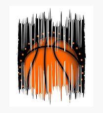 Basketball Ball  Photographic Print