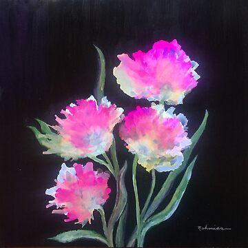 """Peonies"" - Colorful, Original Artist's Design! by zeneriffic"