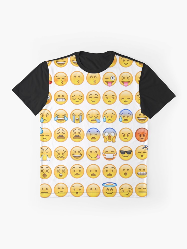 Alternative Ansicht von EMOJI Grafik T-Shirt