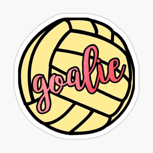 Water Polo Goalie Sticker