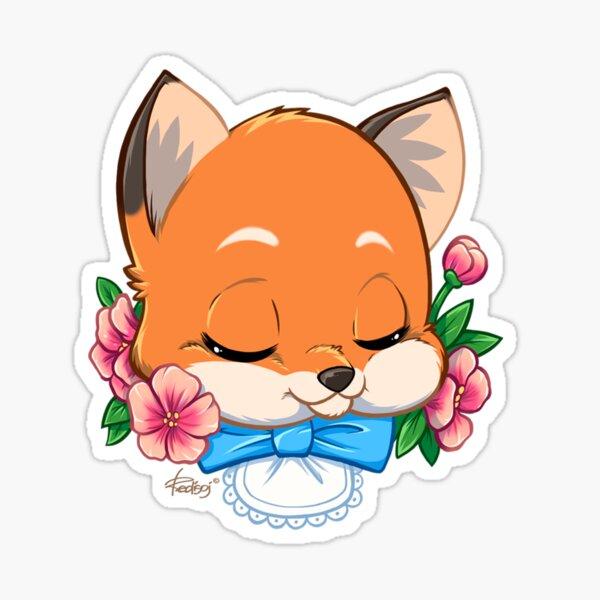 Animal - Fox Sticker