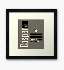 Team Casper Framed Print