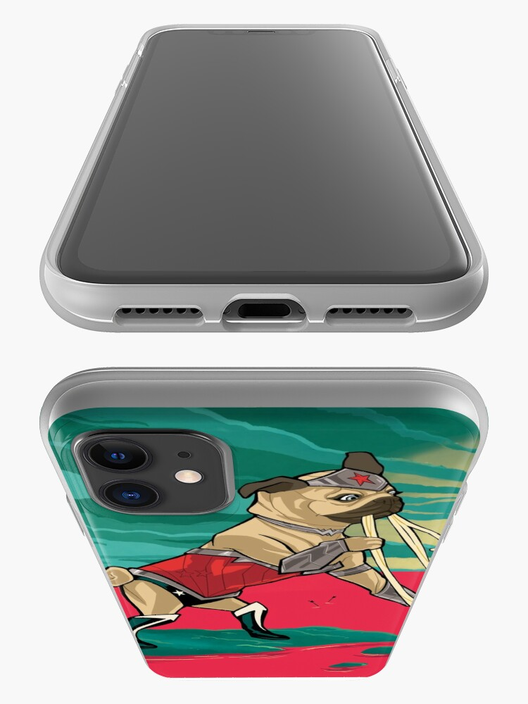 Alternate view of Wonderpug iPhone Case & Cover