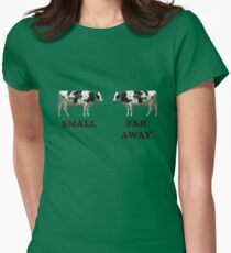 Father Ted - Cows Womens Fitted T-Shirt