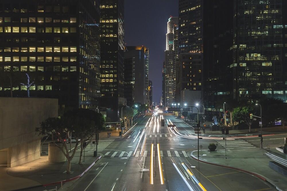 Downtown Los Angeles 1 by Nadim Baki