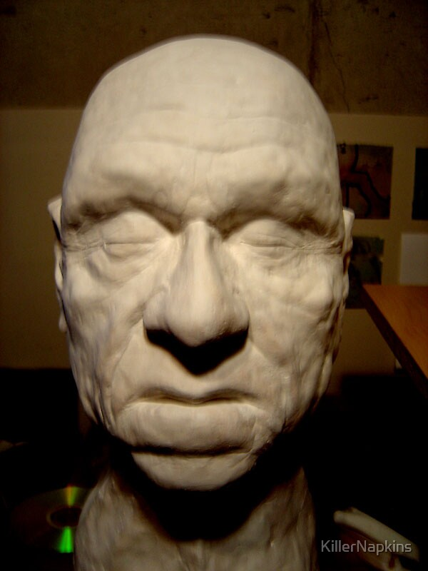 Old Man Sculpt by KillerNapkins