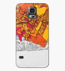 Podgorica, Montenegro, Skyline Map Case/Skin for Samsung Galaxy