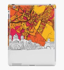 Podgorica, Montenegro, Skyline Map iPad Case/Skin