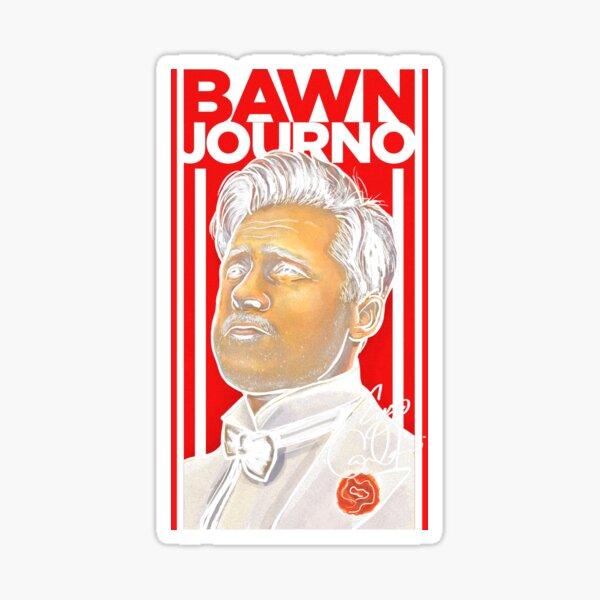 Bawnjourno A Tribute to Enzo Goralami  Sticker