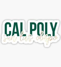 Cal Poly - Style 13 Sticker