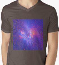 Galactic fractals V-Neck T-Shirt