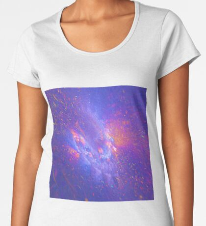 Galactic fractals Women's Premium T-Shirt