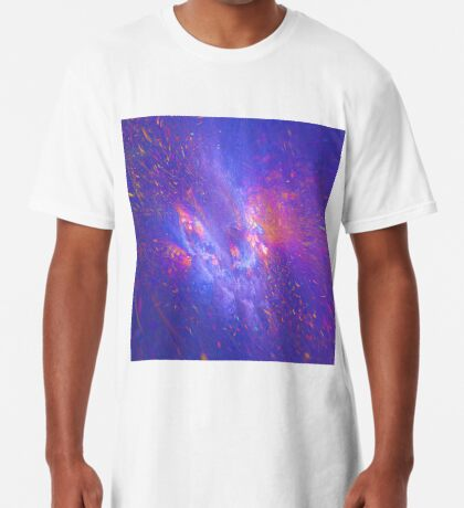 Galactic fractals Long T-Shirt