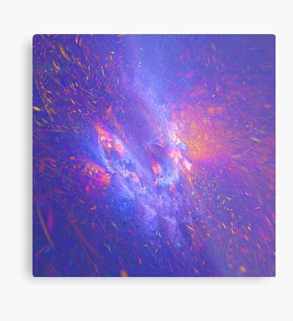 Galactic fractals Metal Print