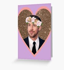 Hey Gosling Girl Greeting Card