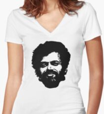Terence Mckenna Women's Fitted V-Neck T-Shirt
