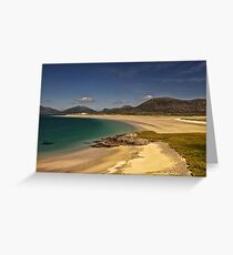 Harris: South West Coast Beaches Greeting Card