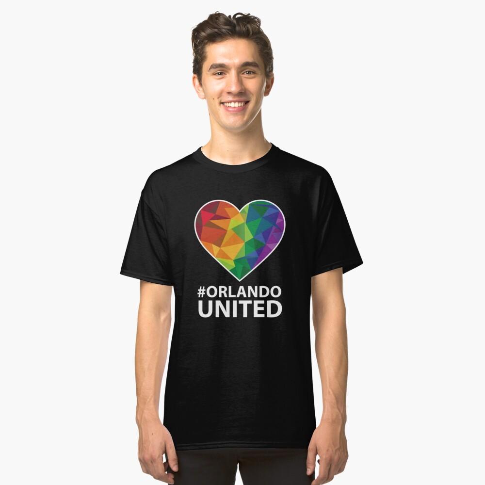 Orlando United T-Shirt - Pray For Orlando Classic T-Shirt Front