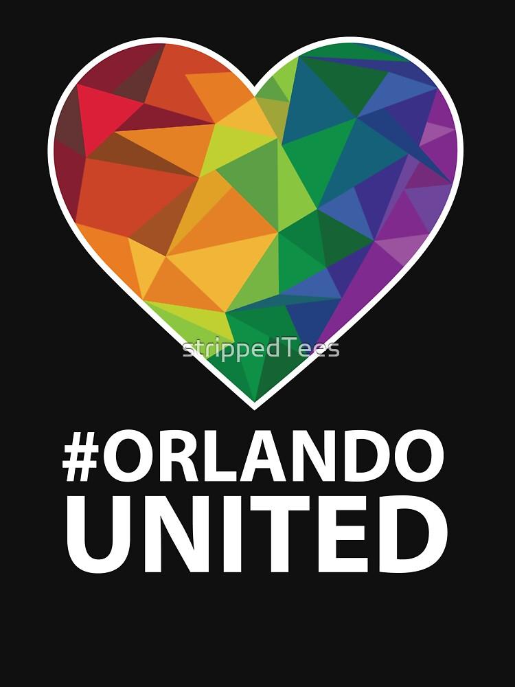 Orlando United T-Shirt - Pray For Orlando by strippedTees
