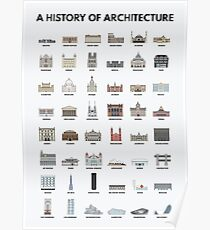 A History of Architecture Poster