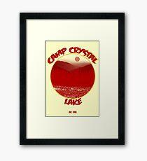 Camp Crystal Lake Framed Print