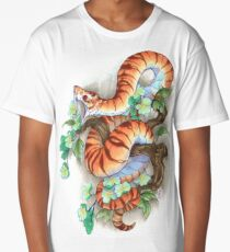 tiger snake Long T-Shirt