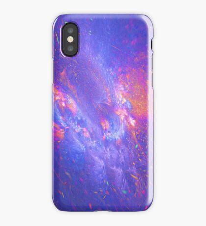 Galactic fractals iPhone Case